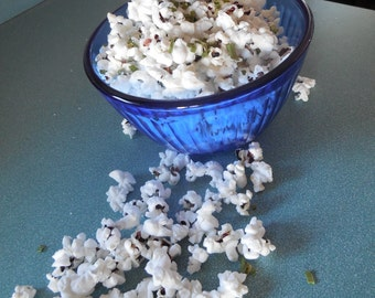 Popcorn Sprinkles, Hand-blended HERB COOKING seasoning, popcorn spice mix, salt-free