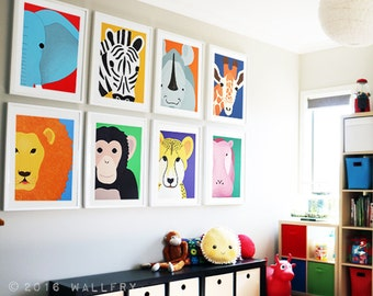 Playroom Wall Decor nursery art playroom art children wall art kids decorwallfry