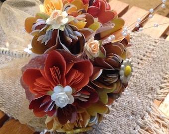 Origami Flower Weddng Bouquet