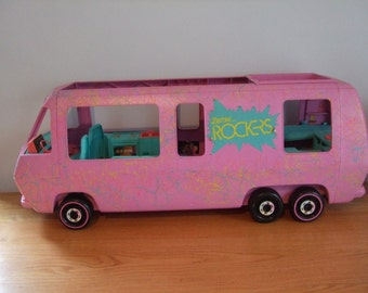 Vintage Barbie and the Rockers Van