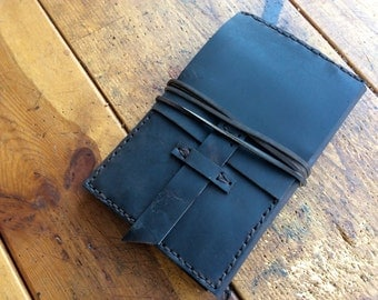 Emmon's Moleskine Notebook / Refillable Leather Moleskine Book Cover / Handmade Leather Journal / Leather Journal Cover / Writers Gift