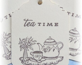 Tea Time - Gift/Hang Tags (8)
