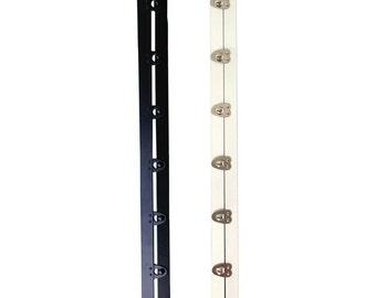 "2 sets Corset busk steel boning 13"", 7 buttons, support for corset wedding dresses"