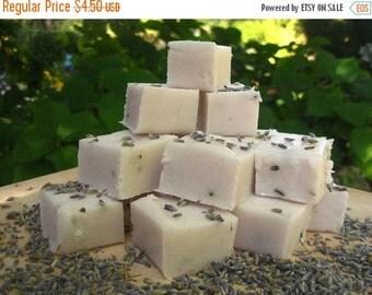 SALE Lavender Vanilla Sugar Scrub Cubes
