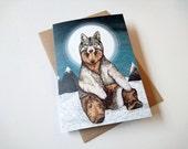 Wear Wolf // Greeting Card