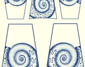 A314 (Fossil Shell Shapes 2)  for the Rolling Mill, Low Relief Pattern.