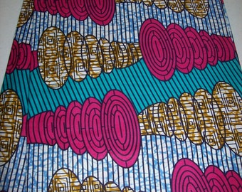 New and Exclusive Wax print African fabric per yard, Soft textured wax print, African Maxi skirt fabric, African clothing, African Headwraps