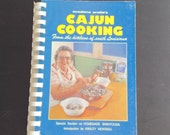Vintage Southern cookbook, Cajun Cooking from Kitchens of South Louisiana, from Acadiana Profiles