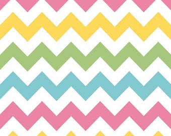 SALE - Minky Baby Blanket - Chevron in Girl - Personalization Options Available