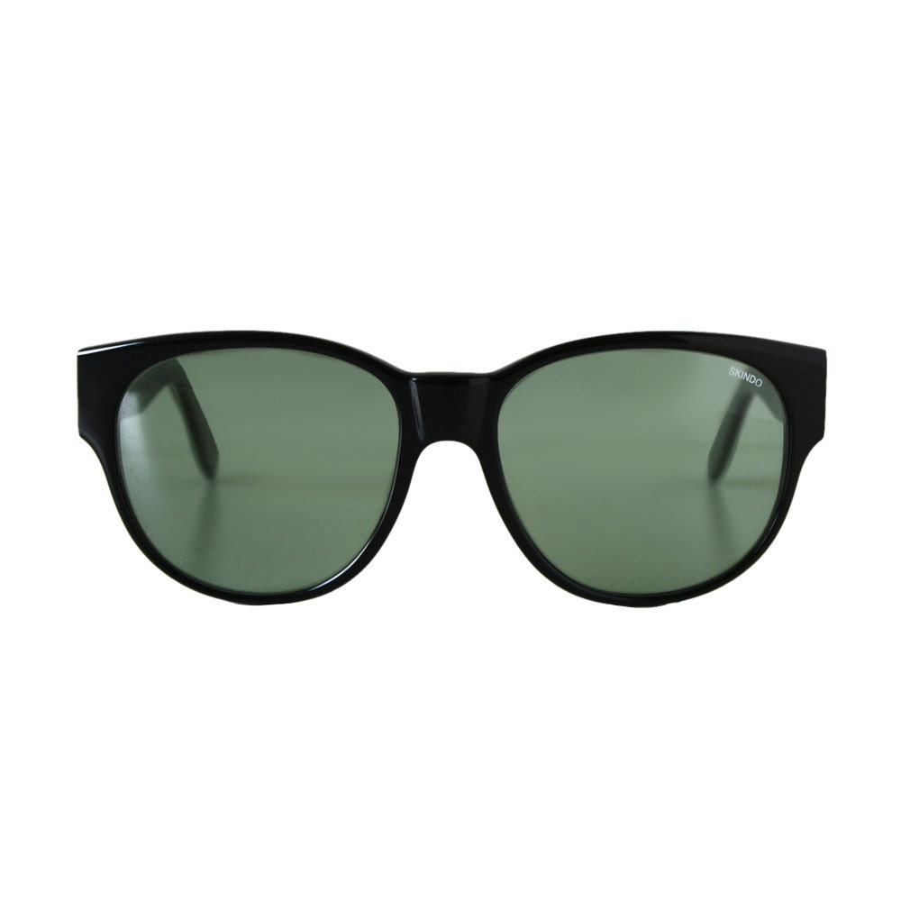 black oversized sunglasses large vintage sunglasses from the