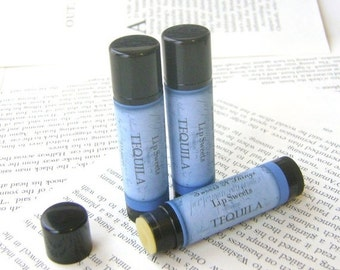 Tequila Lip Balm, Lip Balm with Shea and Cocoa Butter