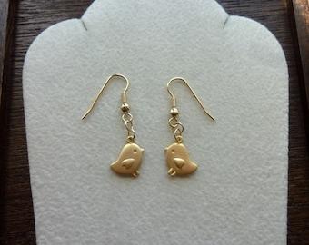CHIKKITY- Cute Chick Bird Earrings