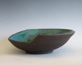 Handmade Ceramic Modern Hostess Bowl