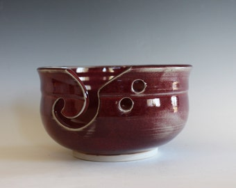 Yarn Bowl, knitting bowl, handmade ceramic yarn bowl, gift ideas, ceramics, READY TO SHIP