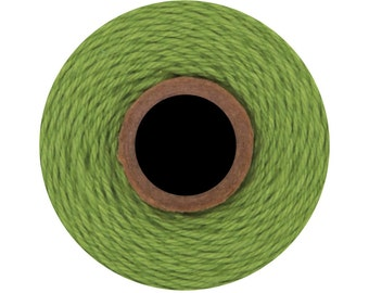 Solid Green Divine Twine (240 yrds) Solid Green