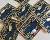 Reserve for Koreanlemons only-Vintage Japan novelty charm identification kiddie bracelet-NOS-