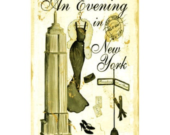 NEW YORK CITY 1- Personalized Leather Journal Cover Moleskine Field Notes Custom