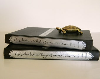 Vintage The Arabian Nights Entertainments by the George Macy Companies, Inc. Two Volume Book Set 1955. The Heritage Club. Literary Classics.