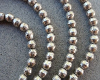 Old African Silver Spacer Beads