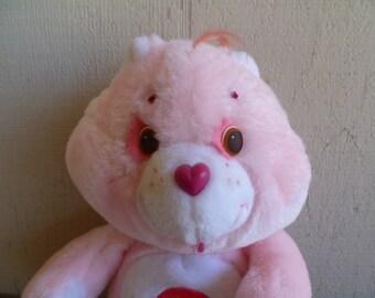 Care Bear Cheer Bear Plush Vintage 1984