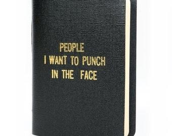 Rude Little Black Book-The hand-made original