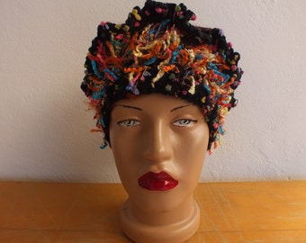 Crochet Hat, Bohem Beret, Knitted Beret, Knit Beret, Knitted Hat, Different Hat, Knit Hat, Wool Hat(Adult sizes)