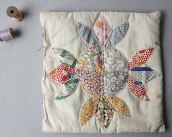 Vintage Quilt Pillow Cover