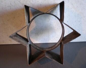Vintage Mid Century Jewish Star Baking Tin