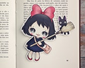 Inspired by Kiki - limited edition bookmark