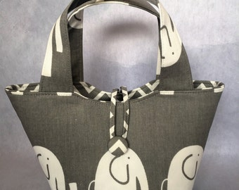 "Baby doll diaper bag ""Mommy & Me Set"" - Elle in Storm Grey"