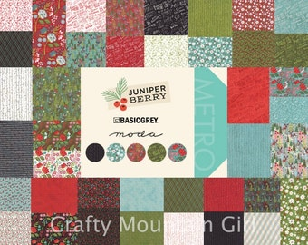 Juniper Berry Fat Quarter Bundle by BasicGrey for Moda Fabrics