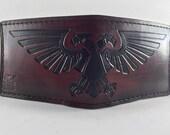 Aquila - Mahogany - Hand Tooled Leather Wallet