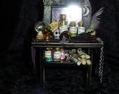 Miniature Witch Desk