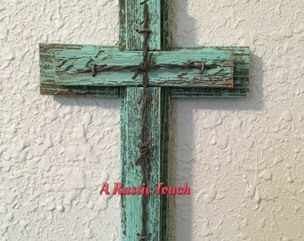Distressed Rustic Cross