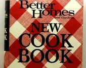 Better Homes and Gardens New Cookbook 1972 HC/SB