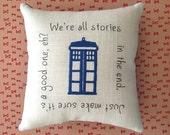 Dr. Who Tuck pillow