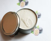 Passion Fruit Whipped Body Butter - Scented Vegan Whipped Shea Butter - Natural Body Butter - Whipped Lotion - Coconut Oil