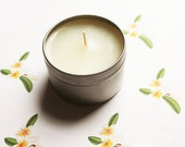 Gardenia Scented Candle - Vegan Candle - Homemade Candles - Natural Candles - Tin Candle - Container Candle