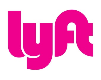 "Lyft Decal 8"" x 8"" (set of two) Made in USA! Made To Last!"
