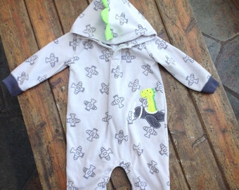 AVAILABLE NOW - Baby Dino/Dragon Onesie