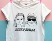 Tenenbaum T-Shirt | White | Unisex Taglia S