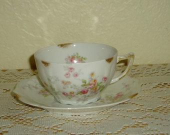 France Depose Limoges Cup and Saucer
