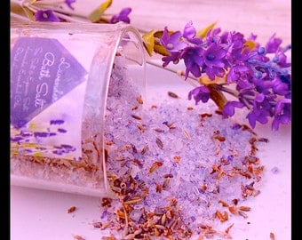 Lavender Bath Salt , Soak In Ounces , Dream Pillow Sachet ,Luxurious ,Relaxing ,Essential Oil , Calming, Organic Lavender,By: Tranquilityy