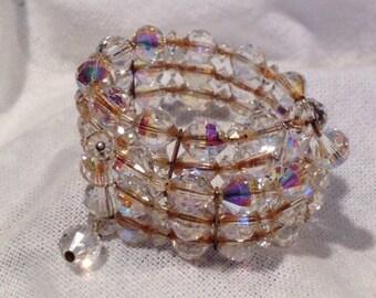 Vintage Bracelet Downton Abbey Bride Edwardian Wedding Jewelry Rare Beauty