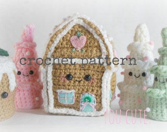 CROCHET PATTERN- Amigurumi Winter Wonderland