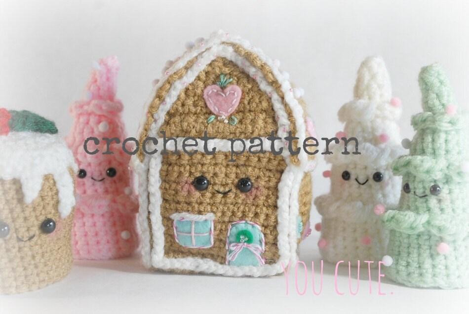 CROCHET PATTERN Amigurumi Winter Wonderland