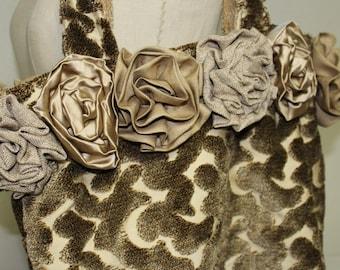 Fabric Tote, Tapestry Tote, Tote Bag, Market Tote