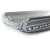 Crib sheet NAVY TRIBAL- baby bedding- navy baby boy bedding- crib fitted sheet- changing pad cover- rustic baby nursery- navy tribal sheet