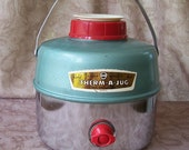 Vintage Knapp Monarch Therm-A-Jug metal drink cooler.   R394-4