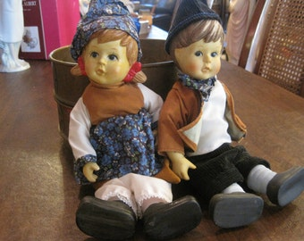 Bisque Hummel Dolls